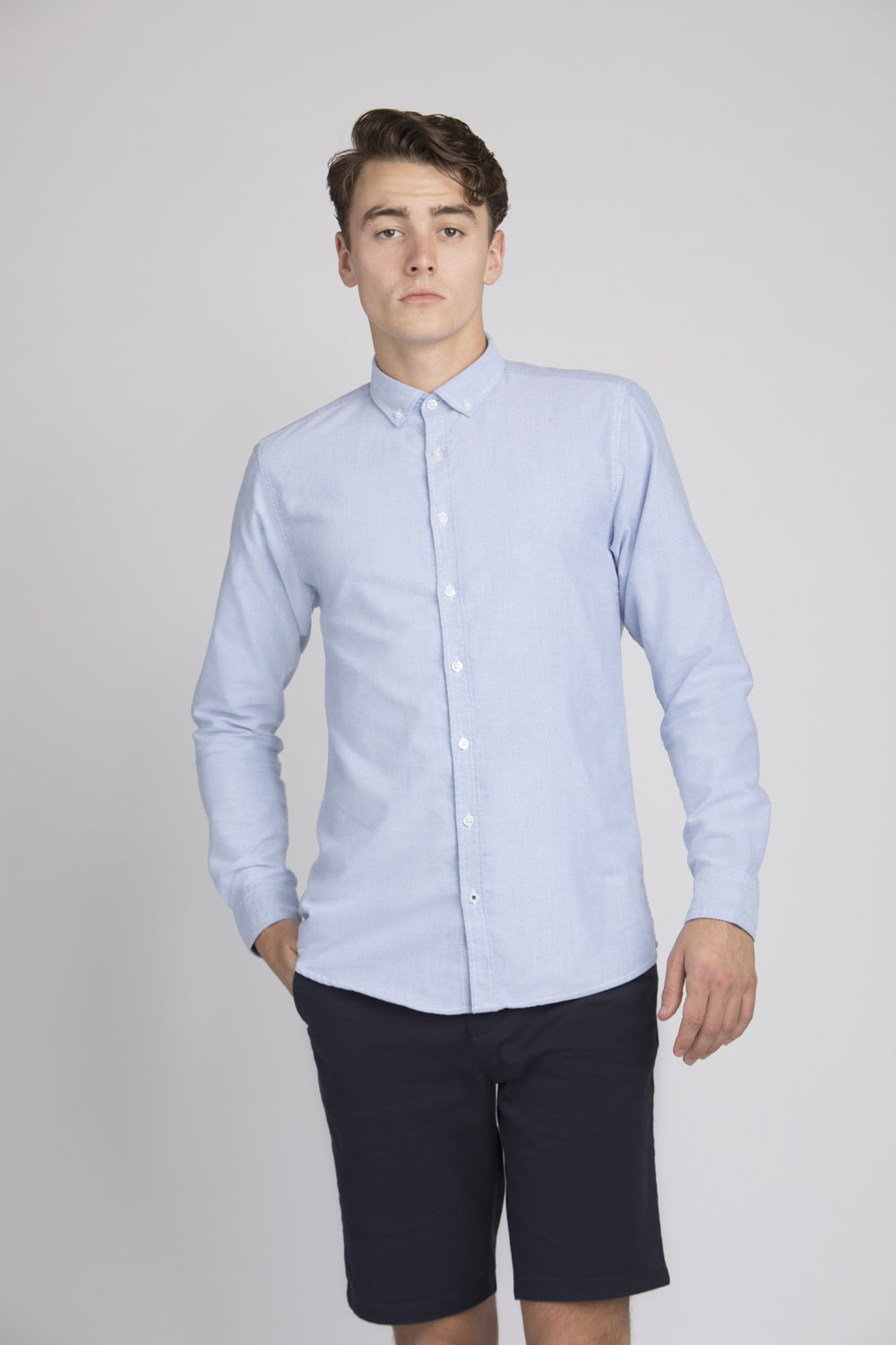 ed3a7c5365f FR502 SUPERSOFT CASUAL SHIRT – Front Row & Co