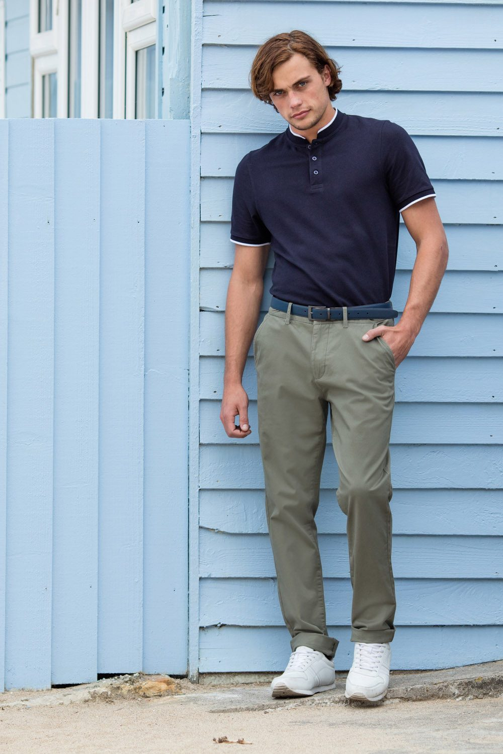 Fr621 Men S Lightweight Chino Front Row Co